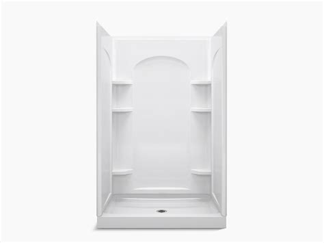 how to clear kitchen sink ensemble series 7222 48 quot x 34 quot x 75 3 4 quot shower stall 7222