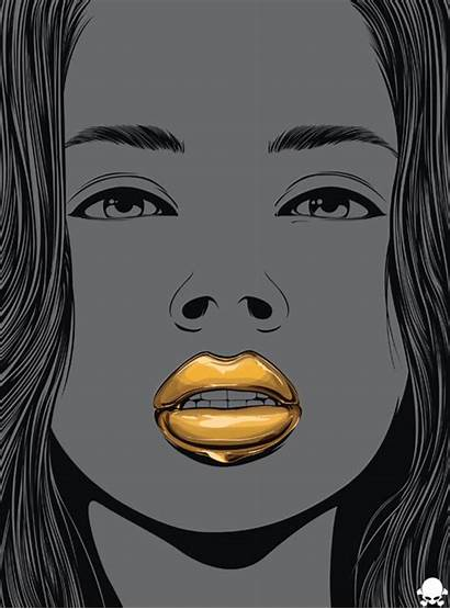 Graphic Gifs Dope Dripping 24k Animated Illustration