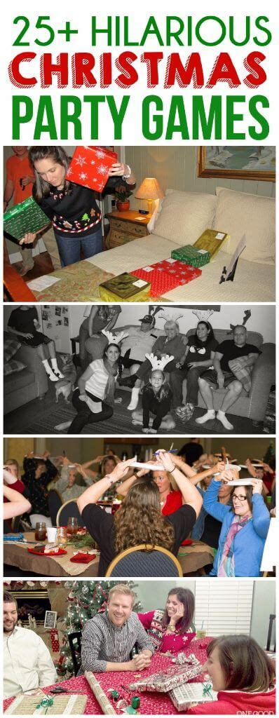 easy christmas party games    play  year