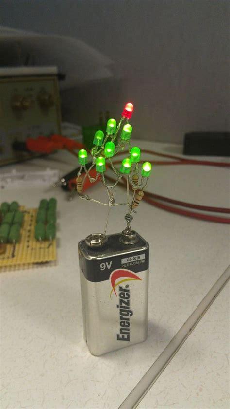 12 volt christmas tree lights 9 volt tree makes decorating easy
