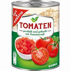Gut&gÜnstig Tomaten Gehackt In Tomatensaft 400g Edeka