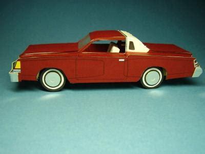 designing  building cardboard model cars