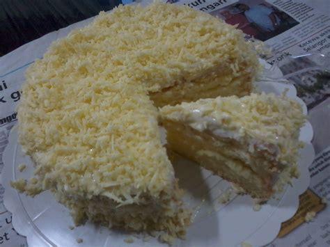 dunia dapur kama kek cheese bersalji