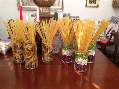 italian pasta centerpieces event planning ideas party