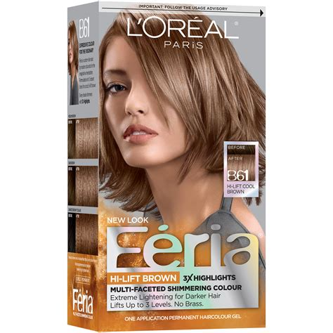 loreal feria hair color chart l oreal feria 174 multi faceted shimmering colour hair