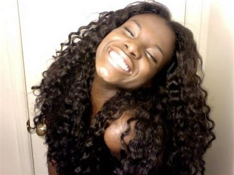 how to blend your hair with and wavy weave heat free youtube