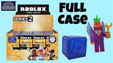 roblox blind boxes celebrity series  full case code