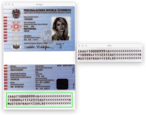 Detecting Machine-readable Zones In Passport Images