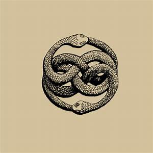 Double ouroboros | Art. Illustration. Drawing | Pinterest ...