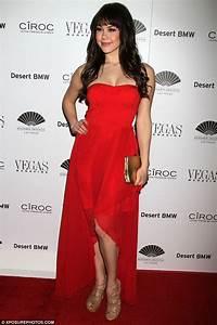 Heather Graham, 43, slinks around in a sexy sequin dress ...