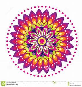 Flower Pattern Mandala Stock Vector - Image: 42610198