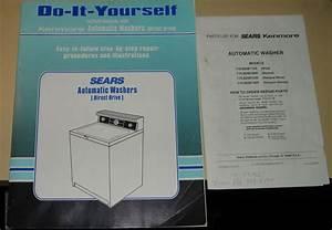 Sears Kenmore Washing Machine  Washer  Repair Manual