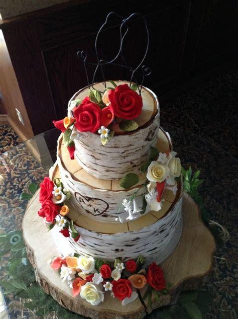 Birch Tree Wedding Cake Sweetopia