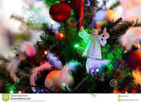 christmas concept photo tree detail stock photo image