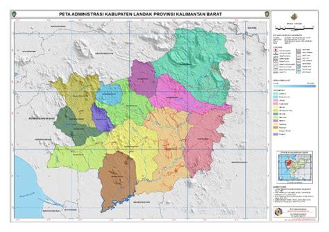 administrasi kabupaten landak peta tematik indonesia