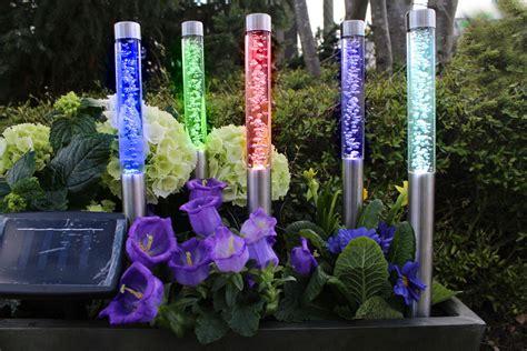 Solarlampe Garten Lampe 5er Set Solarleuchten Solarlampen
