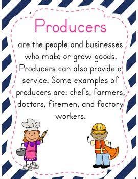 producers  consumers mini unit    grade flair