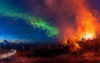 Geometric 4k Wallpapers Mosaic Digital Triangles Colorful
