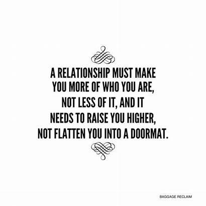 Doing Job Person Quotes Relationships Quote Doormat