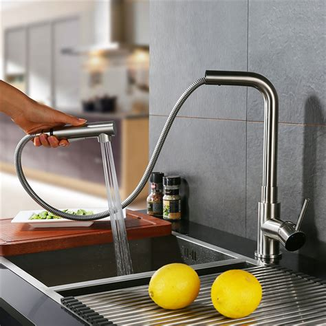 montage robinet cuisine robinet de cuisine mitigeur pour evier avec douchette