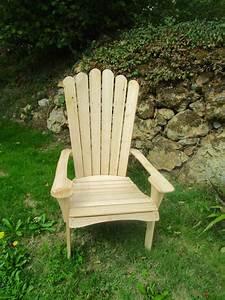 Fauteuil Jardin Bois : fauteuil de jardin adirondack simplement bois ~ Teatrodelosmanantiales.com Idées de Décoration