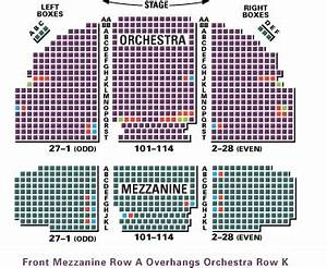 New Daisy Theatre Seating Chart Broadhurst Theatre Seating Chart Row Seat Numbers
