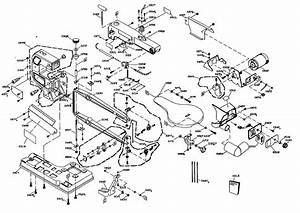 Craftsman 137216020 Scroll Saw Parts