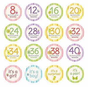 amazon pregnancy milestone stickers 759 the coupon With kitchen cabinets lowes with pregnancy week stickers