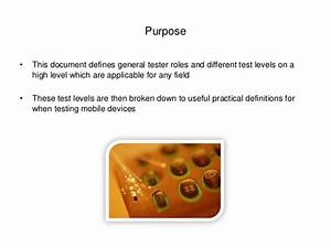 Practical Testing Definition For Mobile Devices