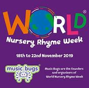 Image result for world nursery rhyme week 2019 uk