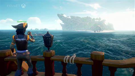 Meaning you can buy it once, and play on both xbox one and pc. You can't get marooned in Sea of Thieves - Polygon
