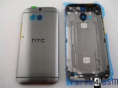 How To Open Htc One M8 Back Cover by Htc One M8 Back Cover Grey 83h40008 00 83h40008 01