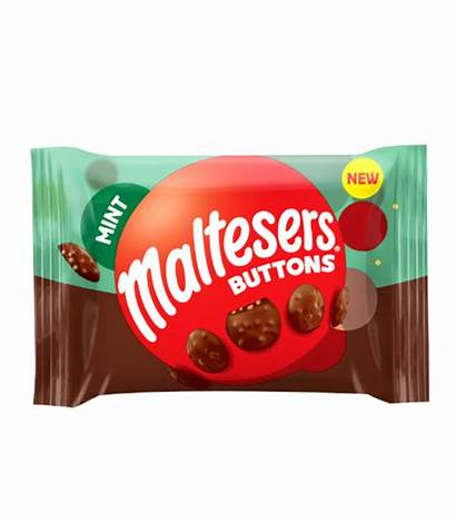 Mint Malteser 32g Buttons Sweets Candy Gbp
