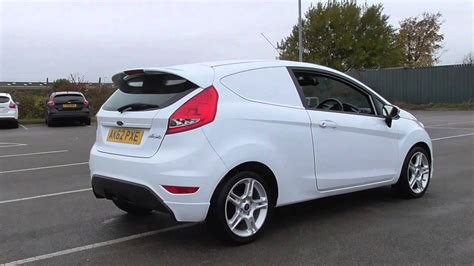 Ford Fiesta Sportvan 1.6tdci Car Derived Van U108373