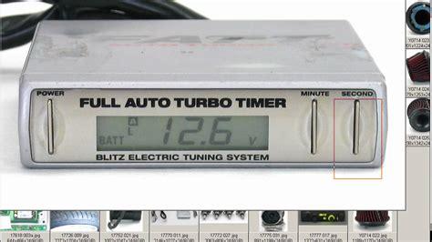 blitz auto turbo timer wiring diagram 42 wiring