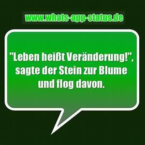 Blume Und Leben : leben hei t ver nderung whatsapp status spr che ~ Articles-book.com Haus und Dekorationen