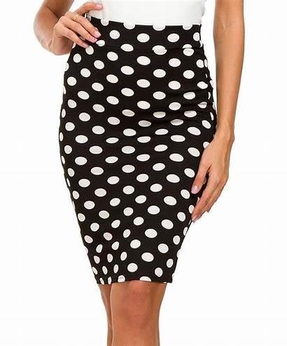 Pencil Skirts Skirt Bodycon Waist Stretch Rockabilly