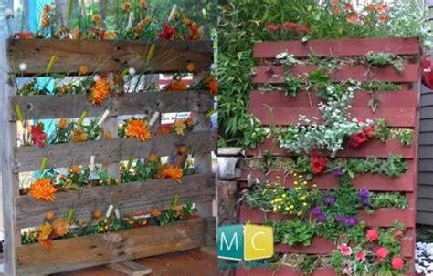 Mur Vegetal Avec Palette En Bois   SURVL.COM