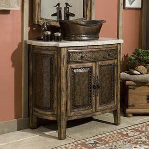 western style bathroom sinks rustico vessel sink chest western bath vanities free