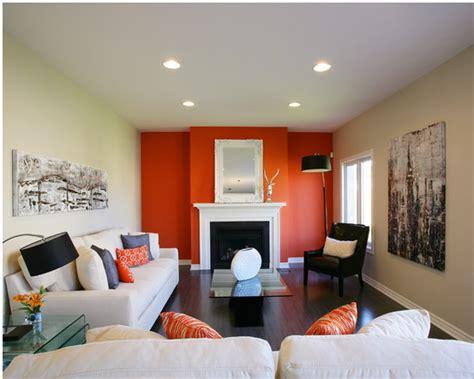 living room colors orange