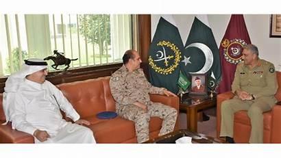 Army Pakistani Saudi Pakistan Arab Ambassador Discuss