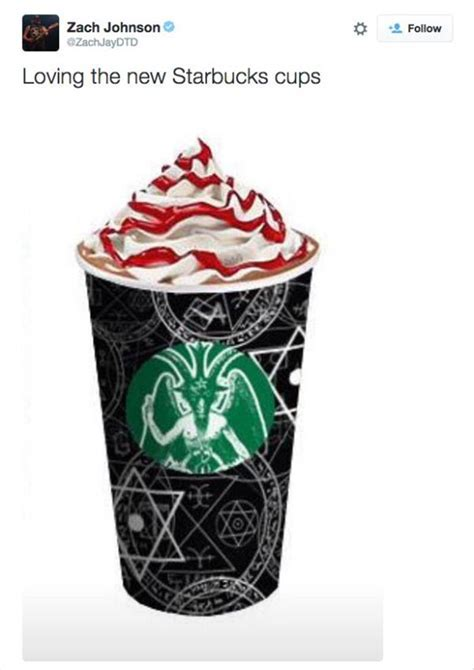 The Funny Side Of The Red Starbucks Cup Craziness   16 Pics