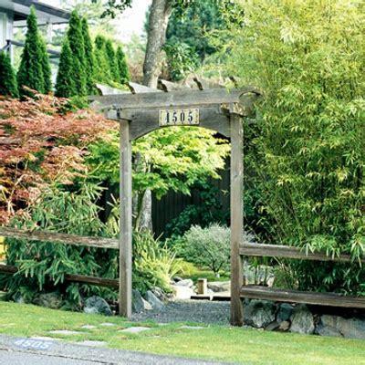 Deko Garten Eingang by Kluge Ideen Wie Den Engen Raum Im Garten Gestalten Kann