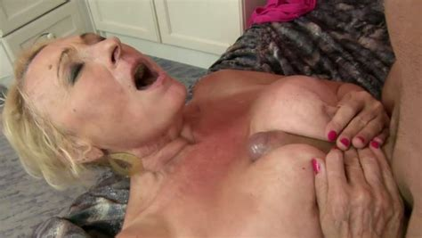 Sex Starved Old Woman Gets Fucked In Sideways Position