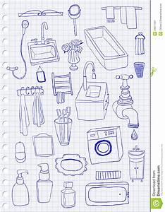 Objet Salle De Bain : objets de salle de bains image stock image 34077291 ~ Melissatoandfro.com Idées de Décoration