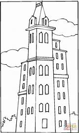 Coloring London Penthouse Pages Printable Houses Main Dot Drawing Supercoloring sketch template