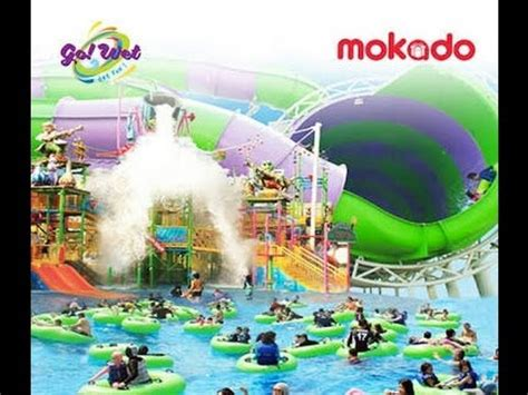 wet water park grand wisata bekasi youtube