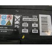 Fiat 500 12V Automotive Battery Replacement Guide 015