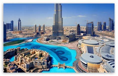 United Arab Emirates Skyscrapers Dubai Megapolis 4k Hd