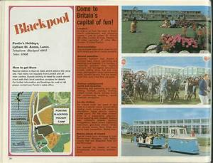 West Coast Style Designs Pontins Brochure 1972 Blackpool The Brainchild Of